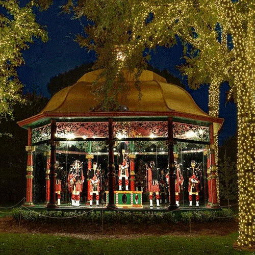 Dallas Arboretum and Botanical Garden Holiday Event